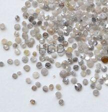 100% naturale sciolti Round Diamanti Taglio Singolo rottami sblocchi Bianco Reale Lucidato