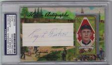 2015 Historic Autographs Ray Fisher T205 Gold Border Cut Autograph SP (2/4)