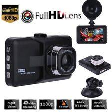 "HD1080P 3.0"" LCD Car DVR Dash Camera Video Recorder Night Vision G-sensor USB SD"