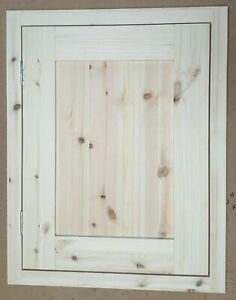 Hand Made Bespoke Replacement Solid Pine Shaker Inframe Doors R14