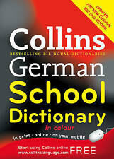Collins German School Dictionary by HarperCollins Publishers