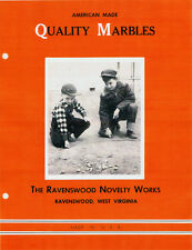 Ravenswood Glass Marbles - Illustrated History