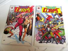 LOT 2 * VALIANT COMICS *THE H.A.R.D.  CORPS *1993 # 5.  &  # 6.   F/F