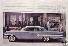 1960 Chevy Impala ORIGINAL Vintage Ad 5 + = FREE SHIP  CMY STORE 4MORE GREAT ADS