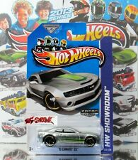 Hot Wheels 2013 #226 '10 Camaro™ SS™ ZAMAC,US WALMART EXCLUSIVE,GOLD RIM,COOL!