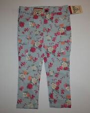 New OshKosh Blue Rose Floral Cargo Pockets Skinny Pants Jeggings Size 5T NWT
