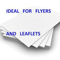 500 Sheets Of A5 130 Gsm Glossy 2 Sided Laser Printer Paper by GARDA