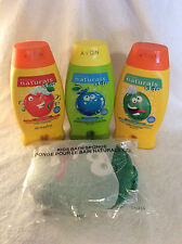 Avon Naturals Kids 4-Piece Bath Set - New!