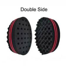 Double Side Barber Hair Sponge Brush Locking Afro Curl Twist Dreads Coil Wave