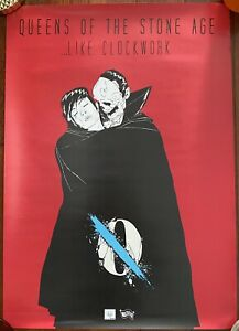 Queens of the Stone Age Like Clockwork Promo poster A2 Size