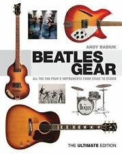 BEATLES GEAR: ALL THE FAB FOUR'S INSTRUMENTS FROM STAGE TO STUDIO - BOOK 333744