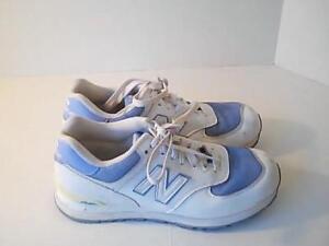 New Balance Womens 8 1/2 Blue White Athletic Shoes