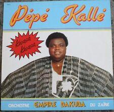 vinyle pepe kallé/ zouk musique caraïbes  Afrique / 33t empire dakuda rare