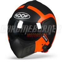 ROOF Helmet Boxer V8 Bond Black Orange Matte, NEW!