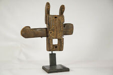 """Extremely Unique Dogon Door Lock 11"""" - Mali - African Art"""