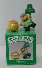 Hallmark Merry Miniatures - Lucky Cameron (St. Patricks Day)