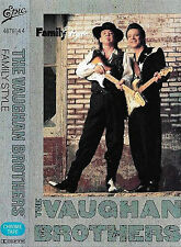 THE VAUGHAN BROTHERS FAMILY STYLE CASSETTE ALBUM STEVIE RAY Blues Rock, Pop Rock