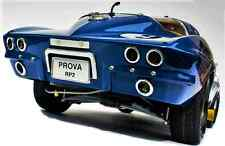 1965 Chevy Built Corvette 1 Sport Race Car 24 Vintage 18 Carousel Blue 12 Model