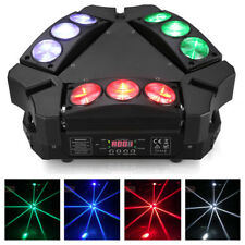 9x10W RGBW 4in1 LED Spider Moving Head Stage Lighting Effect DMX512  DJ Disco