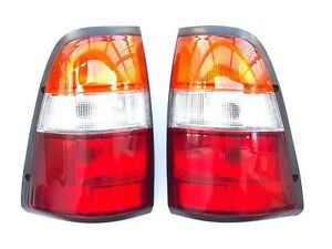 ISUZU SL-TFR  VAUXHALL BRAVA PICKUP -97  Rear Tail Signal Lights Lamp Set yellow