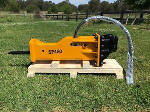 SP-450 Hydraulic Rock Hammer / Breaker suit 1.2 ~ 3.0T Excavator