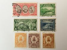 old stamps  HAITI  x 7