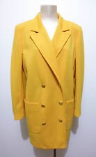 LUISA SPAGNOLI VINTAGE '80 Cappotto Donna Lana Wool Woman Coat Sz.L - 46
