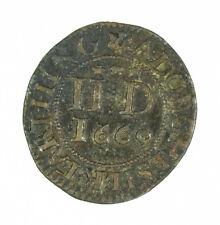 1669 17th Century British Farthing Token