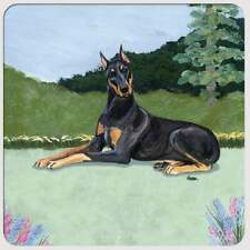 Doberman Pinscher Coasters - Set of 4