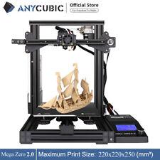 ANYCUBIC Mega Zero 2.0 3D Drucker bausatz größerem Druckbereich Resume Druck PLA