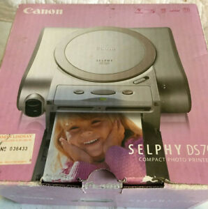 Canon Selphy DS 700 Compact Photo Printer-  New in Box Never used