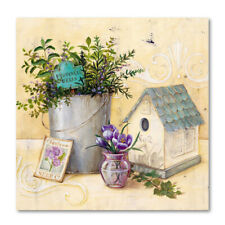 Vase Floral Flower Art Wall Painting Canvas Unframed Printing Picture Home TJY