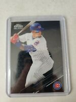 JAVIER BAEZ 2020 TOPPS CHROME BLACK BASE CARD #35 CHICAGO CUBS