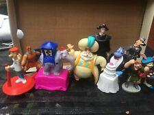 Disney Store Figures 9 Piece Set Nice Used Lot Diferente Caracteres