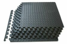 24 s/f EVA SOFT LEAF FOAM EXERCISE FLOOR MATS GYM OFFICE KIDS PLAY INTERLOCK BS1
