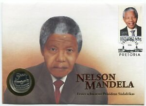 South Africa Nelson Mandela Presidential Inauguration 1994 FDC Proof 5R German