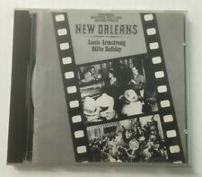 """Louis Armstrong & Billie Holiday """"New Orleans Original Film Soundtrack"""" Mint CD"""
