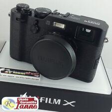 Fuji mirrorless X-100F X-100 F X 100 F X100 nera ottica fissa lunimosa Usata fuj