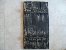 Black Weathered Look Shutter Primitive (Rustic) Wood