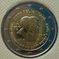 2 Euro Münzen 2017 In Euro Gedenkmünzen Aus Dem Vatikan Günstig