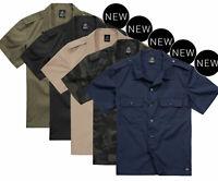 Brandit Herren Hemd Shirt Sommer kurzarm Hemd Freizeithemd US Shirt Ripstop 4103