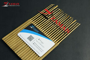 Rhoton micro dissector expanded 20 pcs set Gold Zaman products