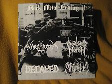 "BLACK METAL ENDSEIG II split ORIG VINYL 7"" nargaroth godless north apolokia"
