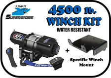 KFI 4500 lb. Winch Mount Kit POLARIS Ranger RZR 570 / 800 '08-'18 EPS/Trail