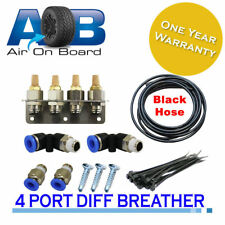 Breather Kit 101 4 point diff gearbox FOR Toyota Nissan Patrol GU GQ universal