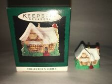 Hallmark Keepsake Ornament Miniature Tudor House #8 In Series 1995
