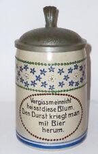 Alter Bierkrug Krug Hohlwein ? Jugendstil Art Nouveau beerstein Franz Ringer ???
