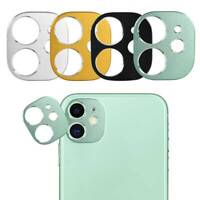 For iPhone 11 Pro Max Full Cover Metal Camera Lens Screen Protector Slim Film
