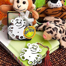 MONKEY BOOKMARK Book Mark Metal Gorilla Animal Zoo Childrens Birthday Party Gift