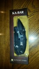 (New) Ka-Bar Pocket Strike 2491 Fixed Blade Knife
